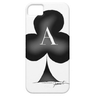 The Ace of Clubs by Tony Fernandes iPhone 5 Cover