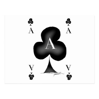 The Ace of Clubs by Tony Fernandes Postcard