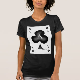 The Ace of Clubs by Tony Fernandes T-Shirt