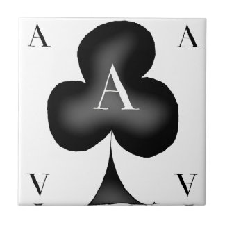 The Ace of Clubs by Tony Fernandes Tile