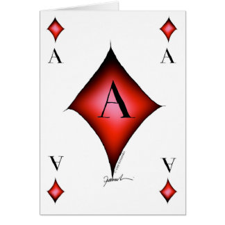 The Ace of Diamonds by Tony Fernandes Card