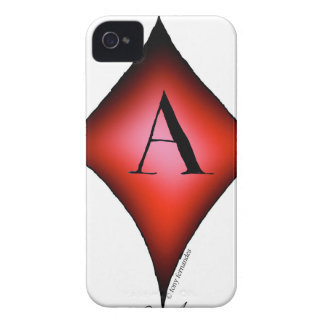 The Ace of Diamonds by Tony Fernandes Case-Mate iPhone 4 Cases