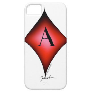 The Ace of Diamonds by Tony Fernandes iPhone 5 Cover