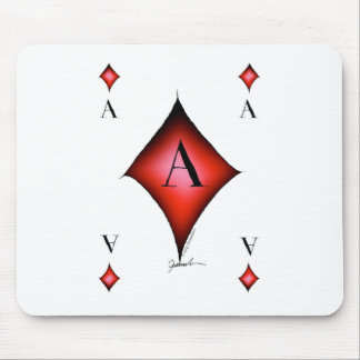The Ace of Diamonds by Tony Fernandes Mouse Pad