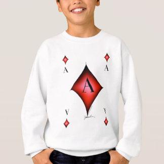 The Ace of Diamonds by Tony Fernandes Sweatshirt