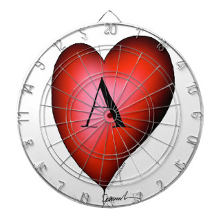 The Ace of Hearts by Tony Fernandes Dartboard