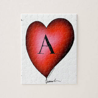 The Ace of Hearts by Tony Fernandes Jigsaw Puzzle