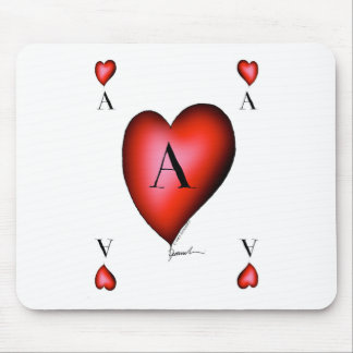 The Ace of Hearts by Tony Fernandes Mouse Pad