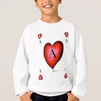 The Ace of Hearts by Tony Fernandes Sweatshirt