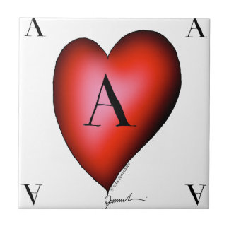 The Ace of Hearts by Tony Fernandes Tile