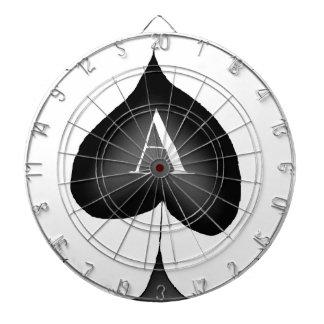 The Ace of Spades by Tony Fernandes Dartboard