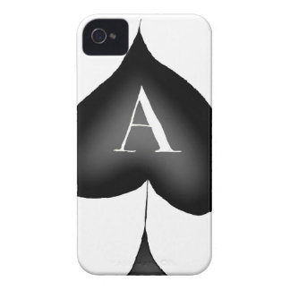 The Ace of Spades by Tony Fernandes iPhone 4 Cover