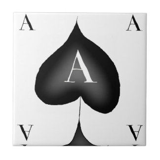 The Ace of Spades by Tony Fernandes Tile