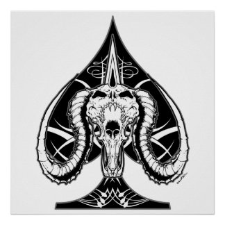 The Ace of Spades Poster