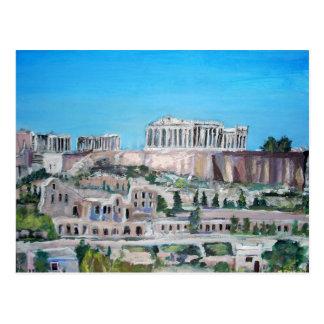 The Acropolis, Athens Postcard