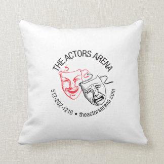 """The Actors Arena Zip-Zap-Zop! """"Pillow Of Shame""""! Throw Pillow"""