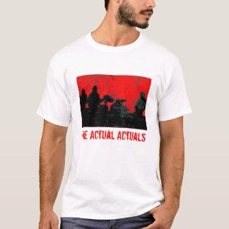 The Actual Actuals t-shirt