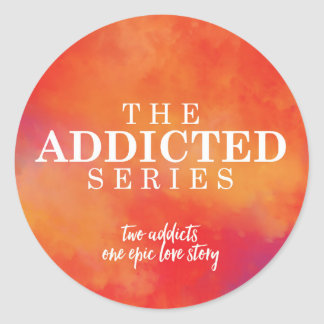 The Addicted Series Sticker