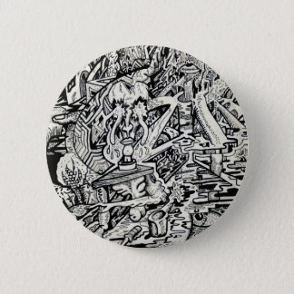 The Adept, or, A Freakish Transfiguration 2 Inch Round Button