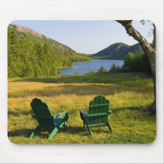 The Adirondack Chairs on the lawn of the Jordan Mouse Pad