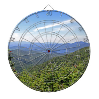 The Adirondacks, New York Dartboard