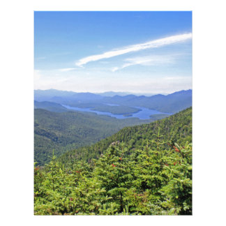 The Adirondacks, New York Letterhead