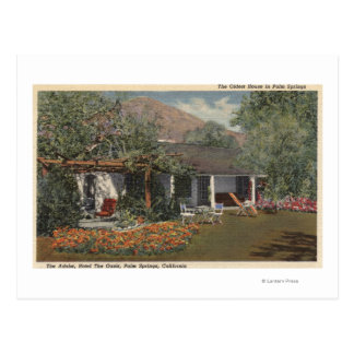 The Adobe (Oldest House in Palm Springs) Postcard