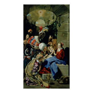 The Adoration of the Kings, 1612 Poster