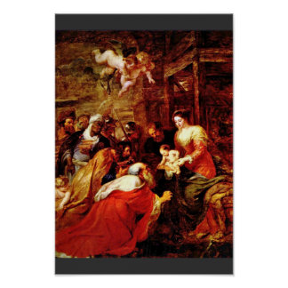 The Adoration Of The Magi, Adoration Of The Magi Poster