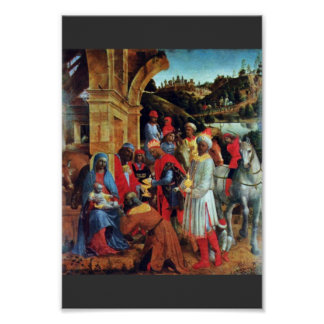 The Adoration Of The Magi By Foppa Vincenzo Poster