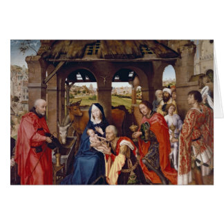 The Adoration of the Magi, c.1455 Card