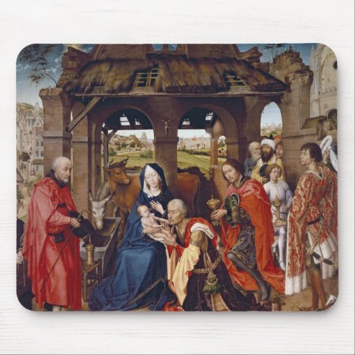 The Adoration of the Magi, c.1455 Mousepads