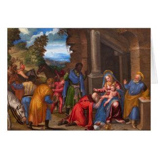 The Adoration of the Magi Christmas Card