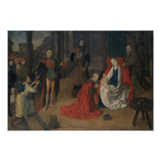 The Adoration of the Magi Poster