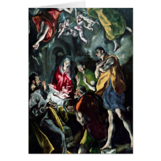 The Adoration of the Shepherds Card