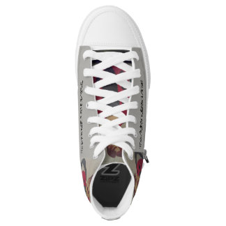 The Adrenalized Artist LadyBug High Tops