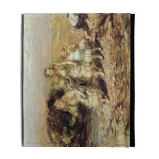 The Adventure, 1883 (oil on canvas) iPad Case