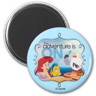 The Adventure Is On Magnet