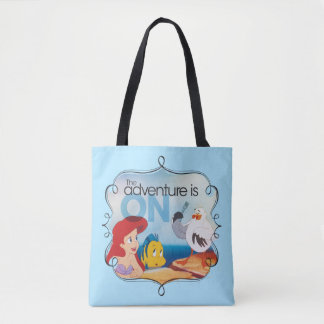 The Adventure Is On Tote Bag