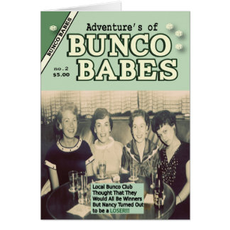 The Adventures of Bunco Babes #2 Card