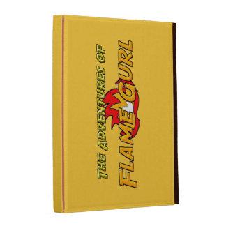 The Adventures of Flame Gurl iPad Folio Cover