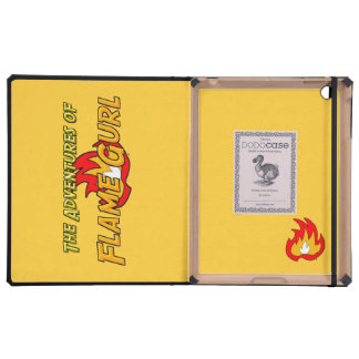 The Adventures of Flame Gurl iPad Cover