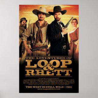 """The Adventures of Loop & Rhett"" One Sheet Poster"