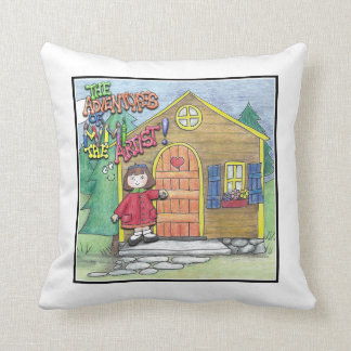 The Adventures of Mimi the Artist: Pillow