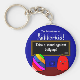 The Adventures of Rubberkid Keychain