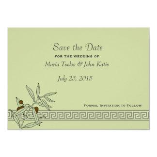 The Aegean Save the Date Invitation