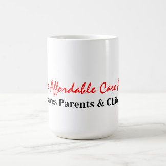 the Affordable Care Act Basic White Mug