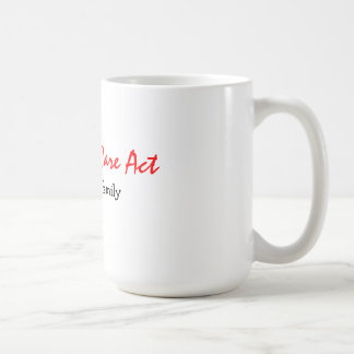 the Affordable Care Act protects my family Mug