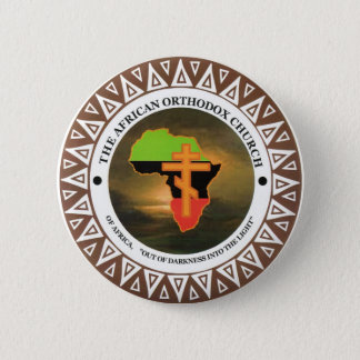 The African Orthodox Church of Africa 2 Inch Round Button