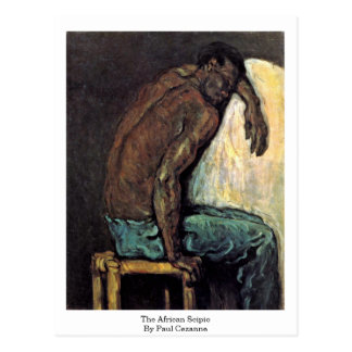 The African Scipio By Paul Cezanne Postcard